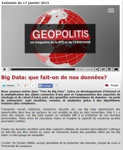 geopolitis datas